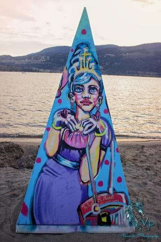 On Location at Keloha 2014 - Keloha Art at Sunset