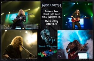 April 2016 Vandala Magazine Megadeth Vandala Photography