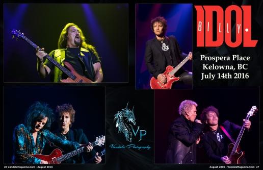 Billy Idol, Steve Stevens Vandala Magazine by Crystal Lee Vandala Photography (1)