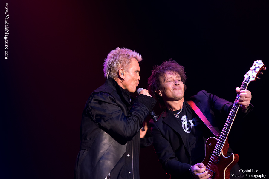 Billy Idol iand Billy Morrison in Kelowna, BC