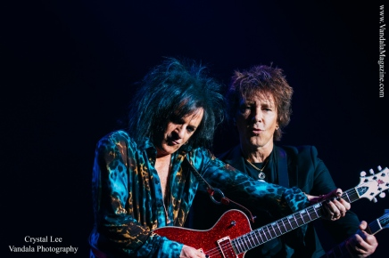 Steve Stevens and Billy Morrison in Kelowna